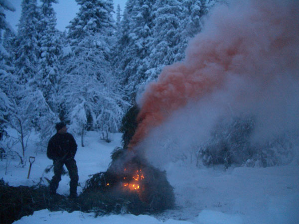 Wilderness Survival and Safety WSS Level 3 Smoke generator