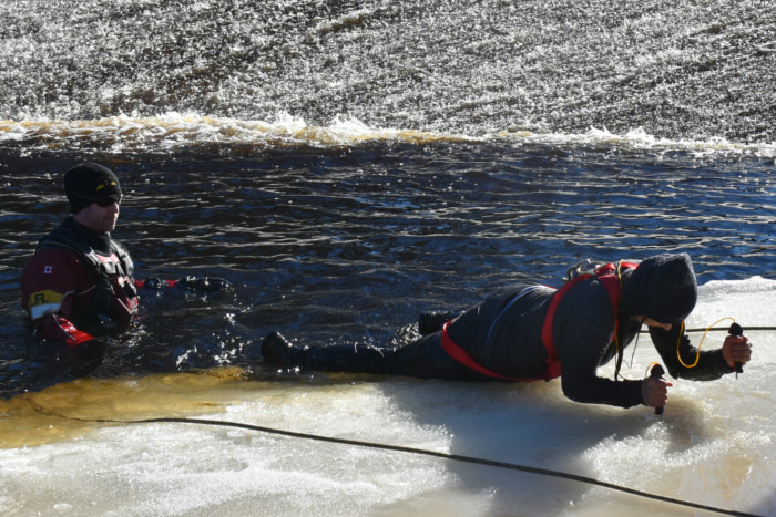 Cold Water immersion Training