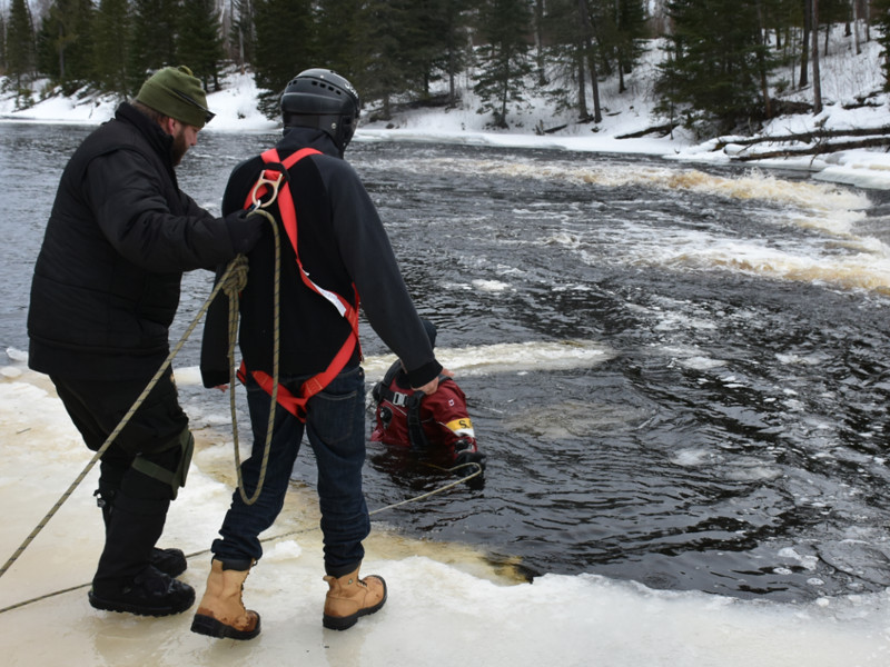 Cold Water Immersion training course
